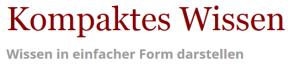 Blog - Kompaktes Wisssen