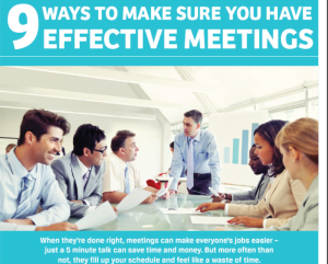 9 Ways to make meetings more effective